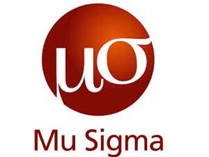 Mu-sigma company profile and Mu-sigma placement papers
