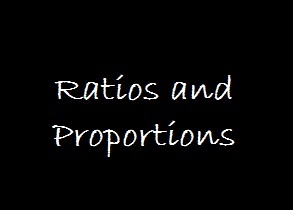 Ratios and Proportions aptitude concepts