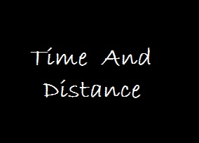 Time and Distance Aptitude concepts